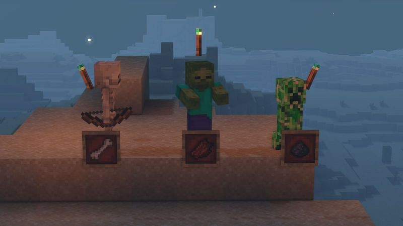 Mobs in Minecraft drop all sorts of items.