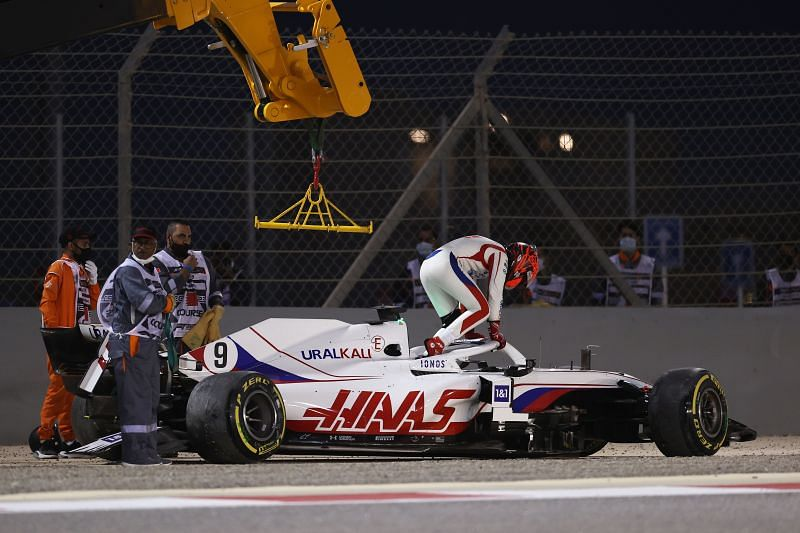 Haas had a disastrous Bahrain Grand Prix. Photo: Lars Baron/Getty Images.