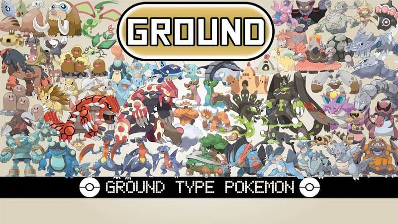 Ground-type Pokemon (Image via The Pokemon Company)