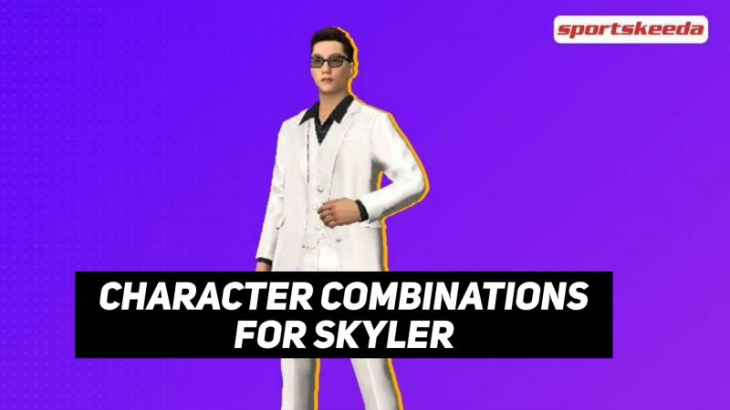 Skyler character in Free Fire