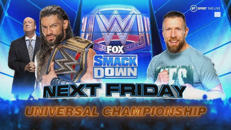 Daniel Bryan will have one last chance at the Universal Championship