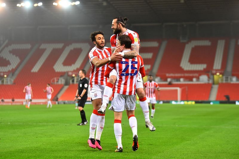 Stoke City take on Millwall at the bet365 Stadium