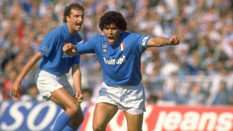 Diego Maradona inspired Napoli to an improbable title win more than three decades ago.