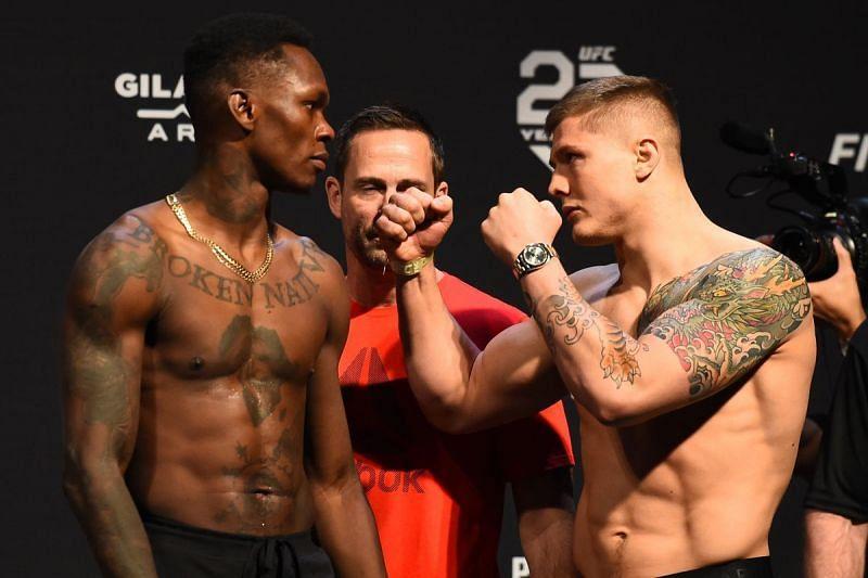 Israel Adesanya and Marvin Vettori will headline UFC 263