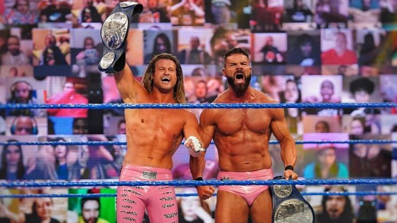 The SmackDown Tag Team Championships are on the line this Friday