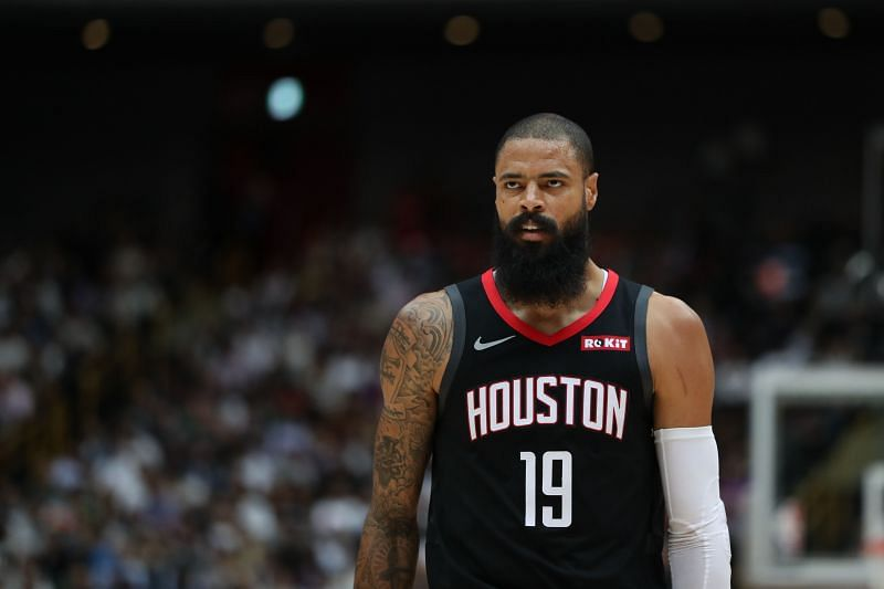 Tyson Chandler with the Houston Rockets in 2019.