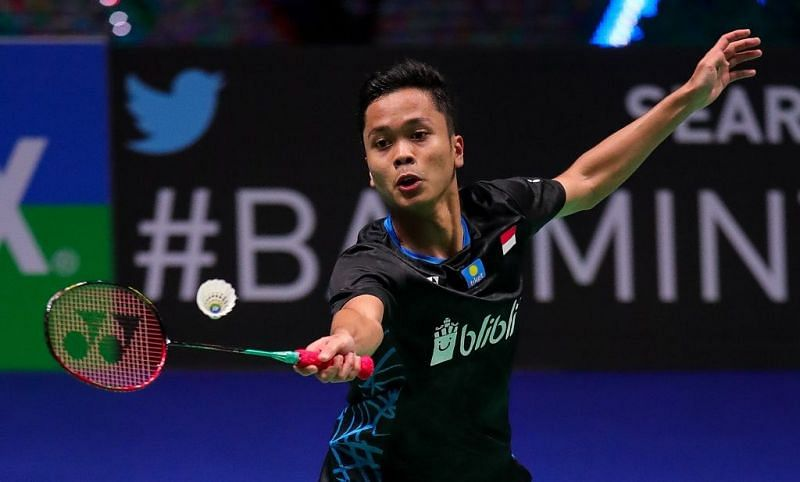 Anthony Ginting. Image Credit: The official BWF website