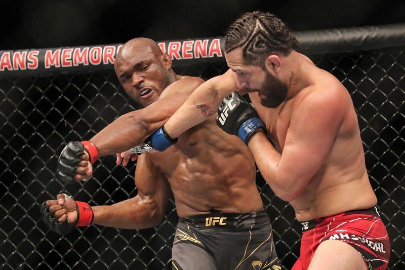 Kamaru Usman was responsible for UFC 261