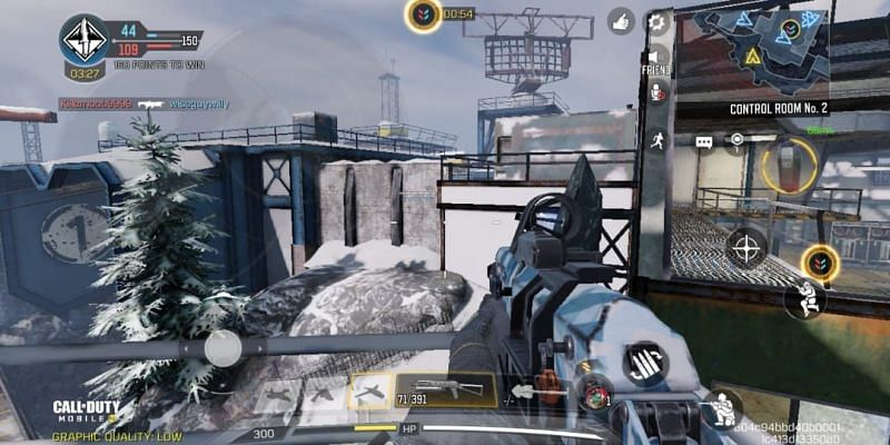 Players can get on the top of the Summit Tower after following all the steps (Image via Activision)