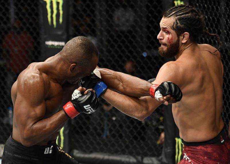 Jorge Masvidal is set to rematch Kamaru Usman for the title at UFC 261