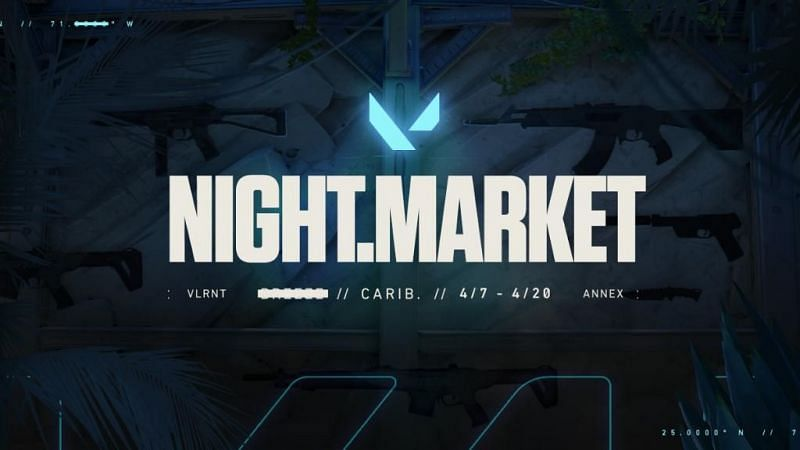 The Night Market in Valorant will be taking place from April 7 to April 20 (Image via Riot Games)