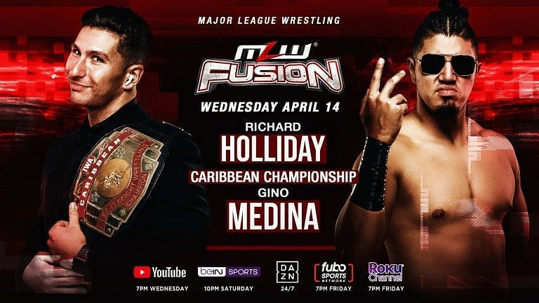 MLW Richard Holliday vs. Gino Medina