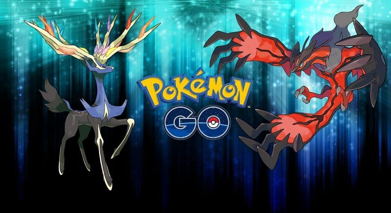 Legendary Pokemon Xerneas and Yveltal (Image via Niantic)