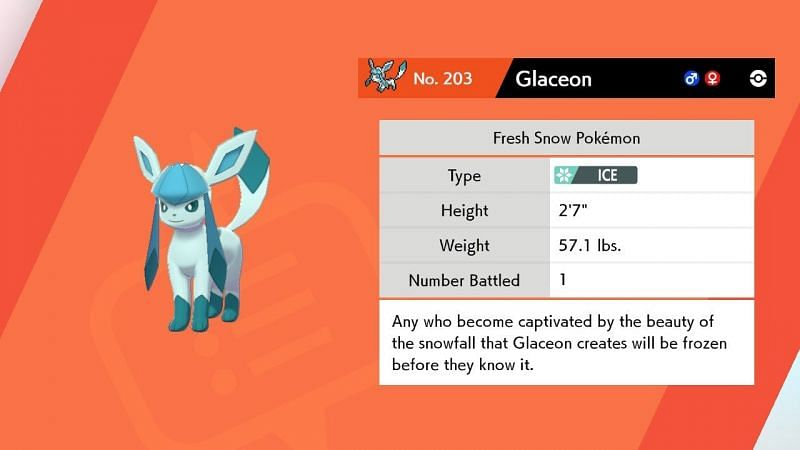 Glaceon Facts