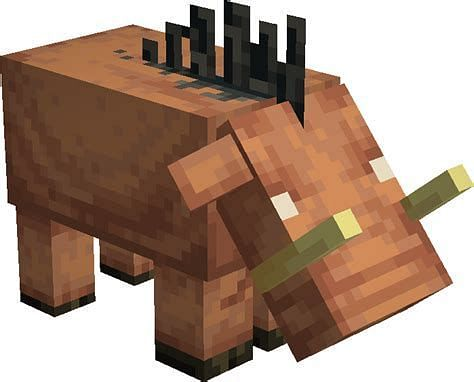 Hoglin in Minecraft (Image via looking for seed)