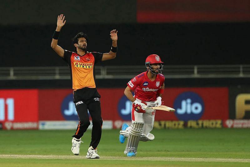 Khaleel Ahmed of Sunrisers Hyderabad