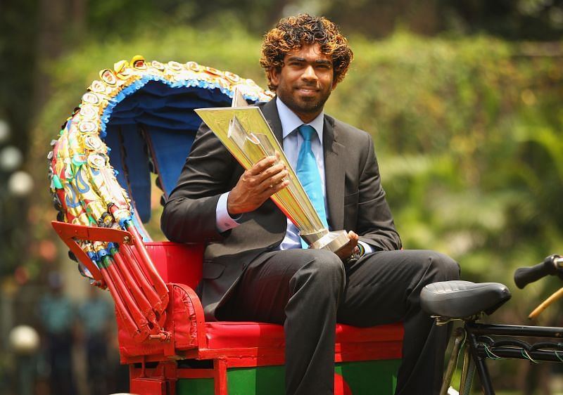 Lasith Malinga captained Sri Lanka in the ICC T20 World Cup 2014 final.