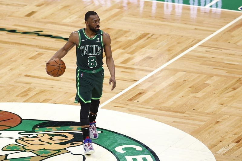 Kemba Walker #8 of the Boston Celtics