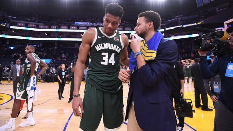 Milwaukee Bucks vs Golden State Warriors