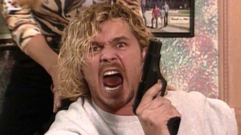 Brian Pillman stunned audiences in his controversial scene with Steve Austin.