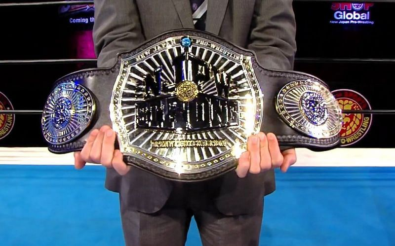 The new NJPW Strong Openweight Championship