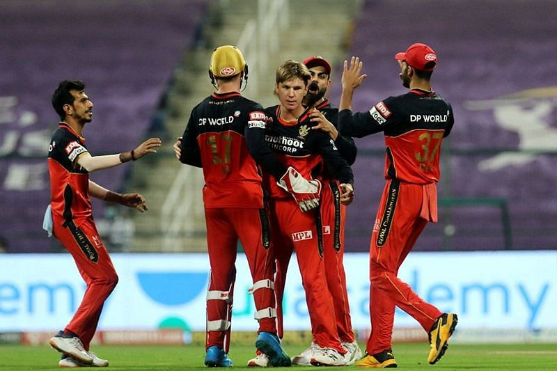 Adam Zampa in action for RCB (Image Courtesy: IPLT20.com)