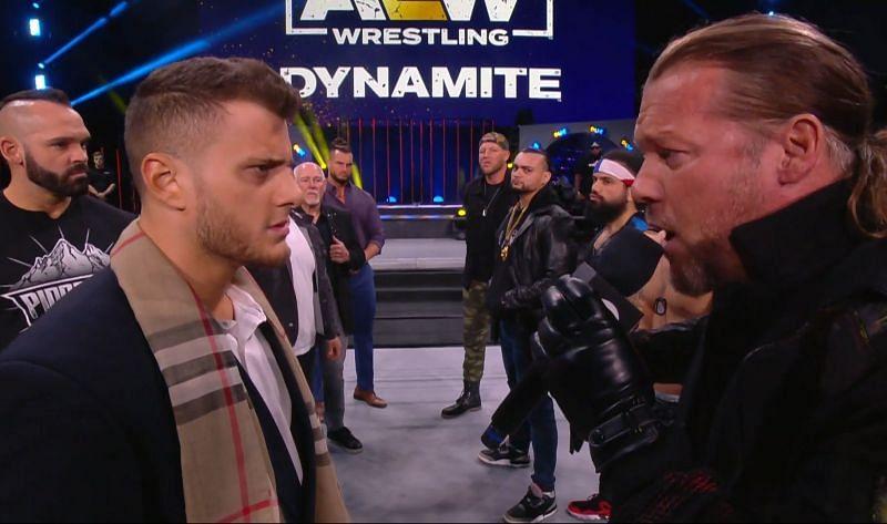Chris Jericho stole the show on AEW Dynamite.