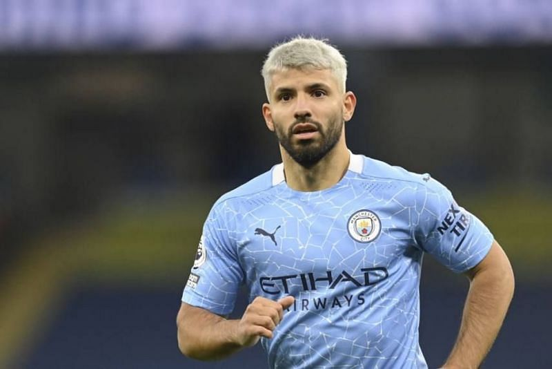 Sergio Aguero is linked with a move to Manchester City