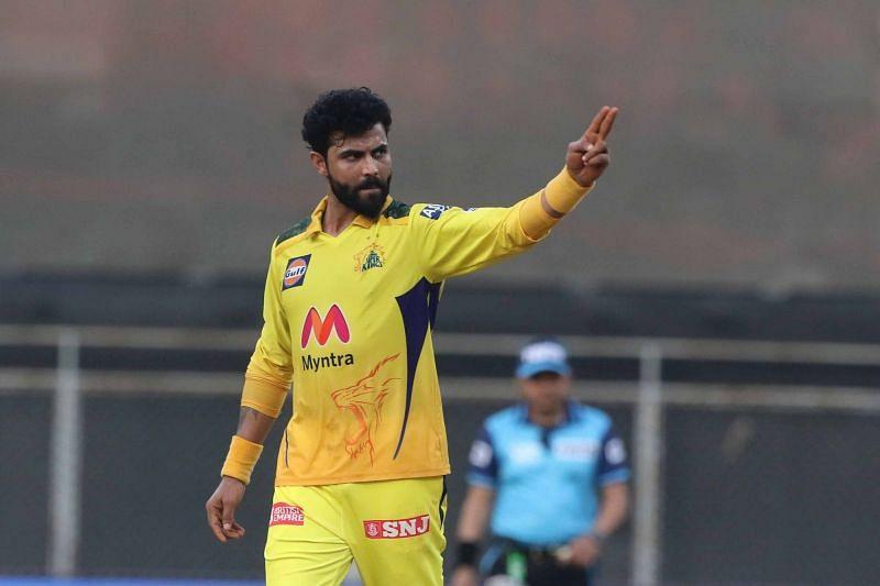 Ravindra Jadeja destroyed the Royal Challengers Bangaloe in IPL 2021 (Image Courtesy: IPLT20.com)