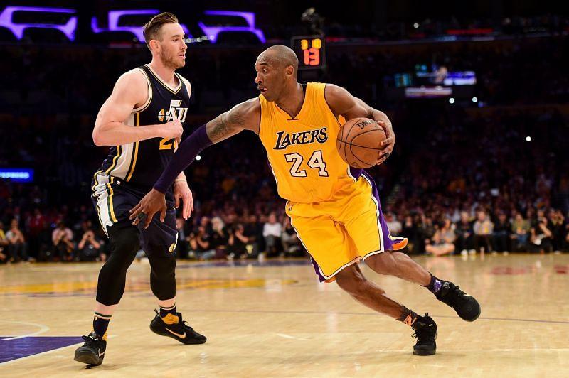 LA Lakers and NBA great, Kobe Bryant.
