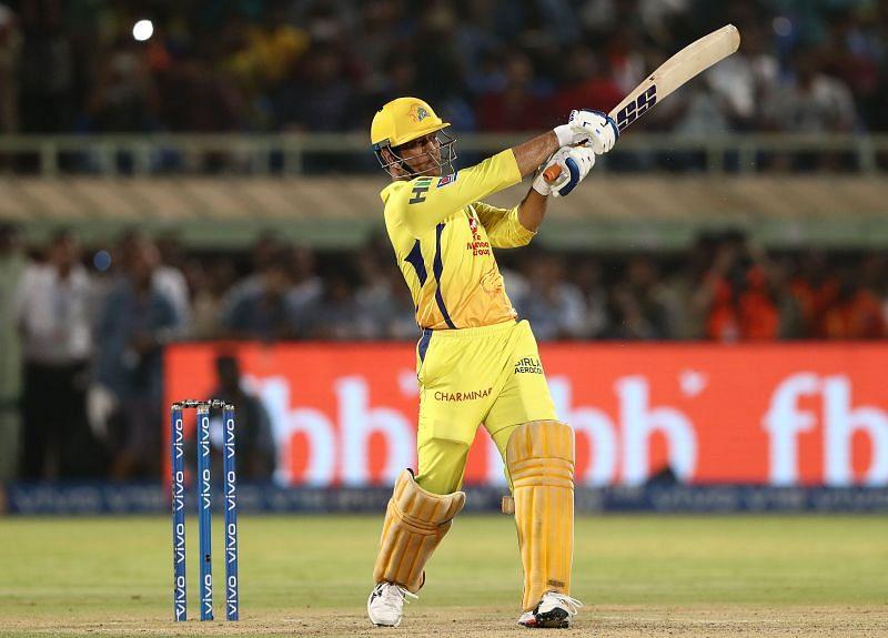 MS Dhoni failed to score a half-century in the IPL last season