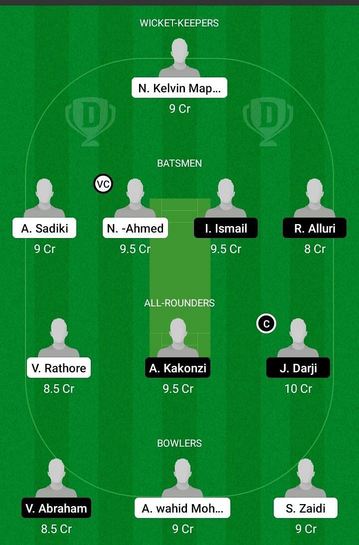 BFG vs SBH Dream11 Team Prediction - Tanzania T10 League