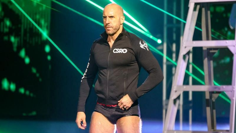 Cesaro joined WWE in September 2011