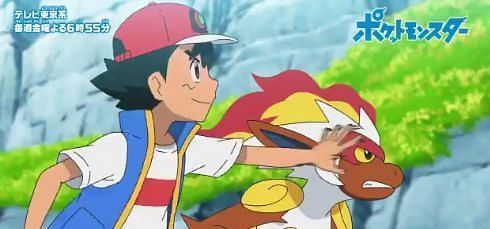 Ash and Infernape Meet Again {Image via Serbii.net}