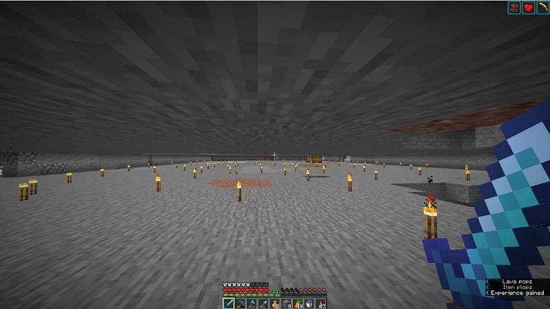 Minecraft players can find slime in slime chunks that are found in caves below the 40th layer (Image via Minecraft Forum)