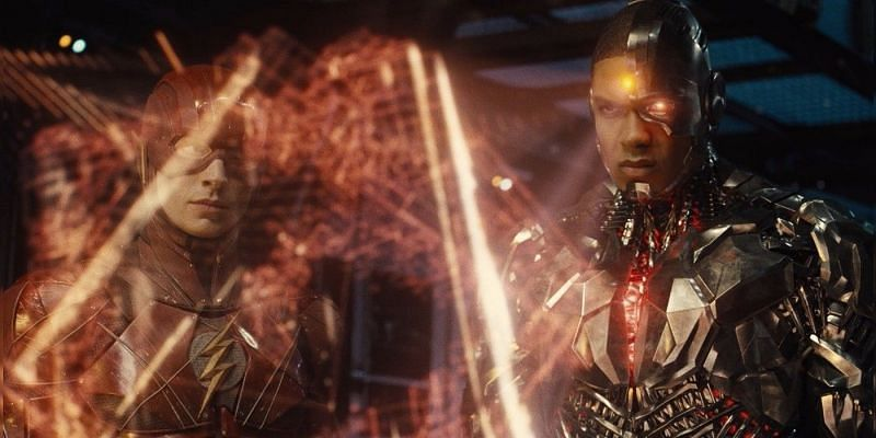 The Flash and Cyborg from Zack Snyder