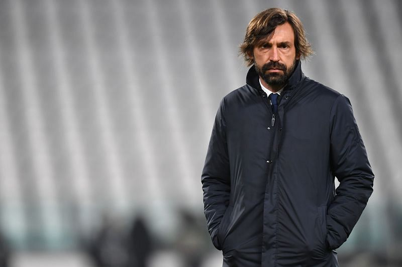 Juventus manager Andrea Pirlo. (Photo by Valerio Pennicino/Getty Images)