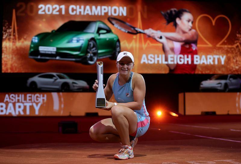 Ashleigh Barty won the Porsche Tennis Grand Prix in Stuttgart