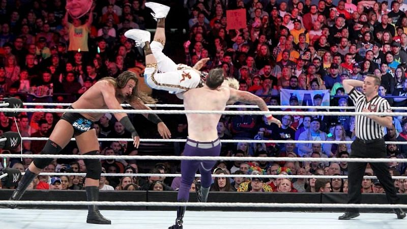The Vaudevillains faced Enzo Amore and Big Cass at WWE Payback 2016.