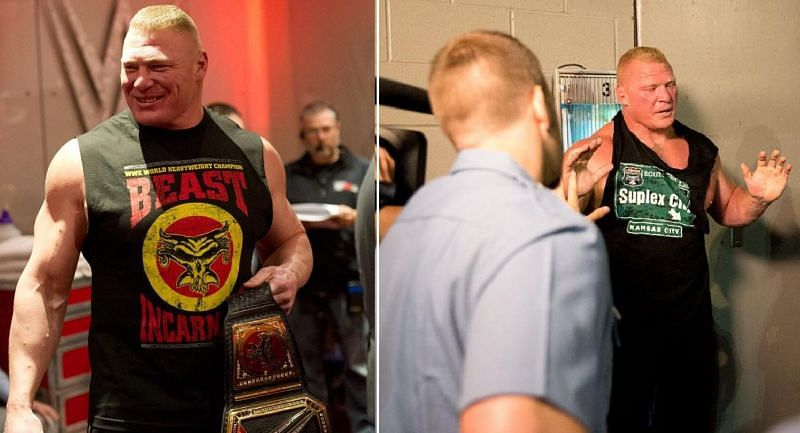 Brock Lesnar used to have friendly shoot fights with fellow WWE Superstars back in OVW