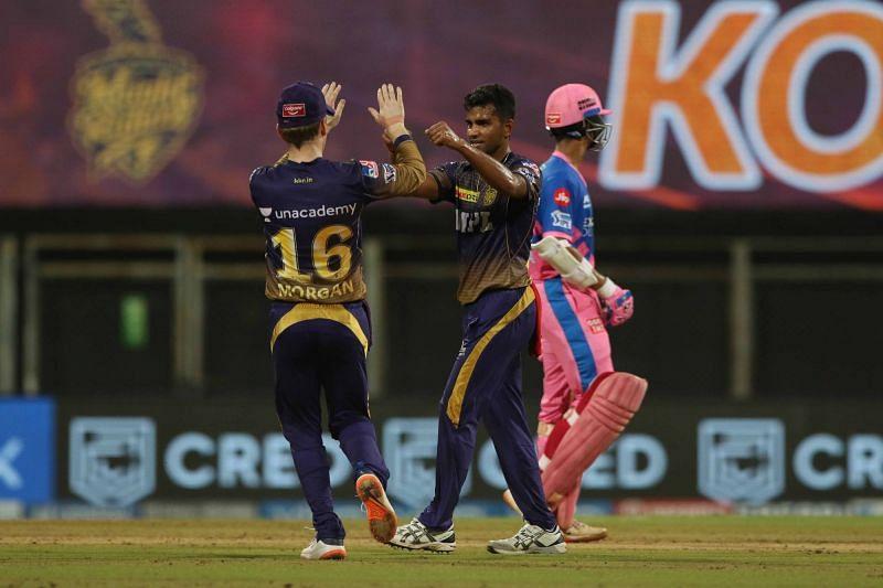 Shivam Mavi picked up the wicket of Yashasvi Jaiswal in the last match. (Image Courtesy: IPLT20.com)