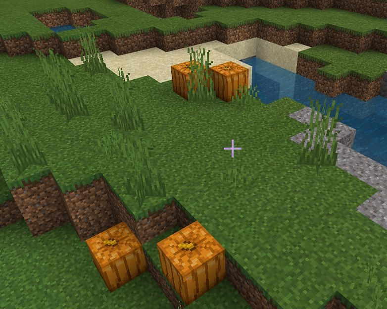 How To Carve Pumpkin in Minecraft