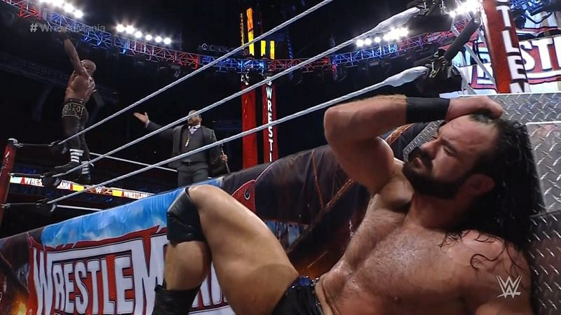 Bobby Lashley retains WWE Championship, Drew McIntyre fails to get back his WrestleMania moment