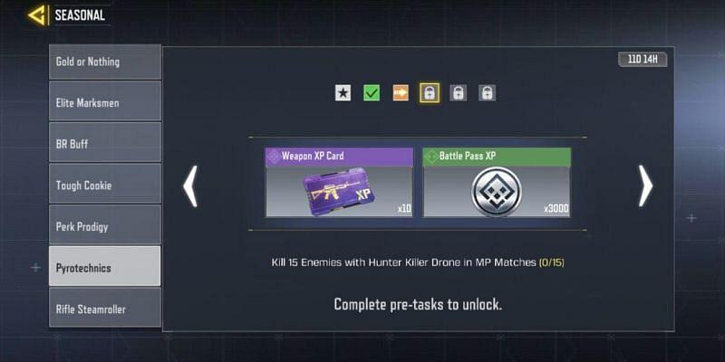 Pyrotechnics - Third task (Image via Activision)
