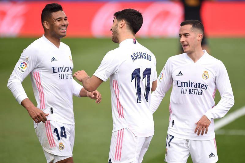 Real Madrid put Eibar to the sword