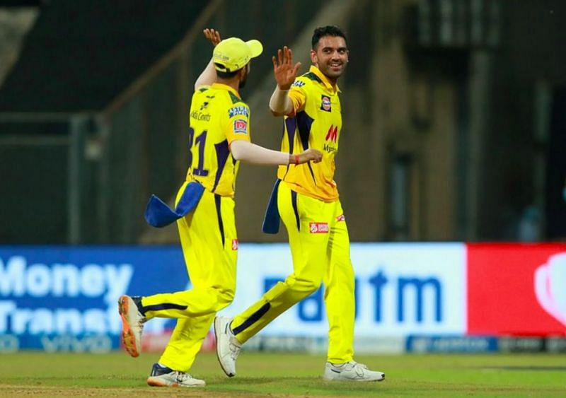 Deepak Chahar picked 4 wickets in the game