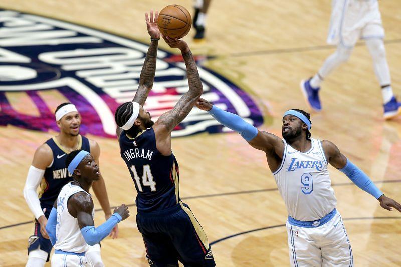 New Orleans Pelicans forward Brandon Ingram