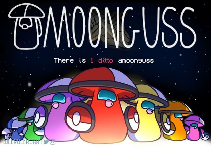 Amoonguss themed Among Us featuring Foongus (Image via Reddit)