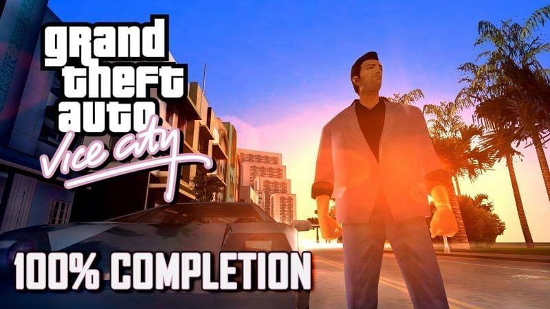 GTA Vice City suit le voyage d'un homme au sommet du monde criminel (Image via ThirstyHyena (YouTube))