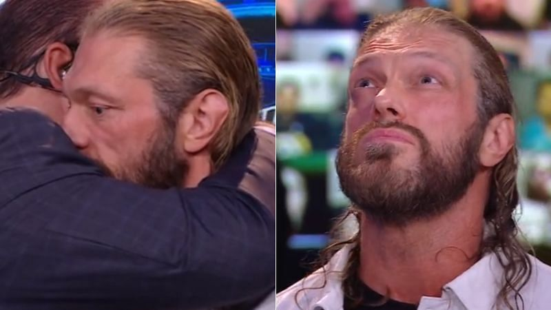 Edge is set to face Daniel Bryan and Roman Reigns at WrestleMania 37